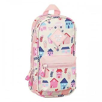 Backpack Pencil Case Glow Lab Welcome Home Pink
