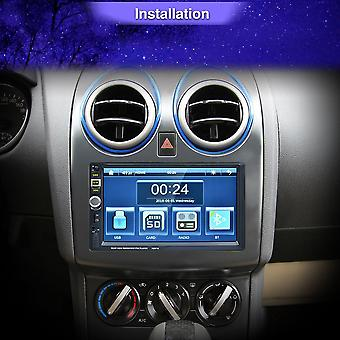 7 Inch High Definition Car Radio Mp5 Player Touch Screen Bluetooth Mp4 Player