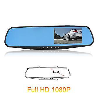 HD 1080p רכב רכב נסיעה נתונים שיא אחורי תצוגה מראה מצלמה G-חיישן