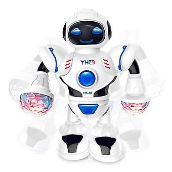 Mini Rc robot met verlichting muziek dansen intelligent model gesimuleerde looprobots vroeg educatief speelgoed voor kinderen