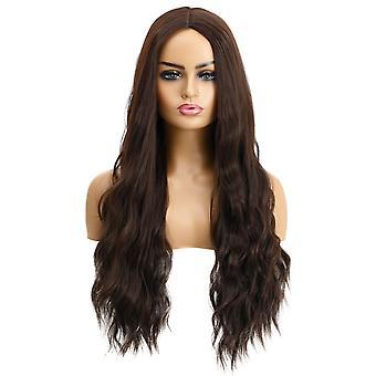 פאות קניון המותג, פאות תחרה, ריאליסטי שיער ארוך גלי שיער מתולתל פאות אישית
