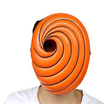 Cosplay Mask Rekvizity Uchiha Obito Oranžová pryskyřice Party Halloween Tobi Mask Dárek