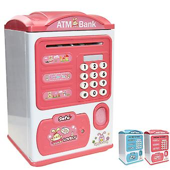 Pinkkinder Sparschwein Neue Kinder Geschenkpaket Kinderpasswort Elektronisches Sparschwein Mini Geldautomat
