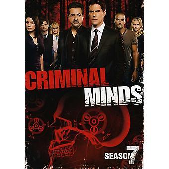 Criminal Minds - Criminal Minds: sæson 7 [DVD] USA import