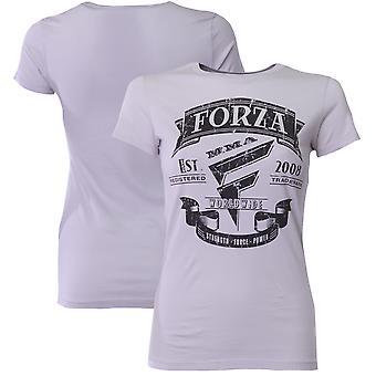 "Forza Sports Women's ""Origins"" MMA T-Shirt - Silver"