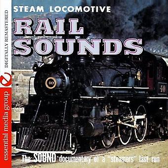 Höyryveturi - rautatie ääniä [CD] Yhdysvallat tuoda