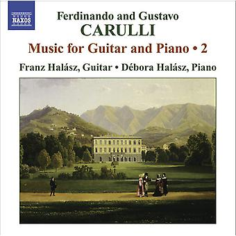 Carulli/Carulli - Ferdinando og Gustavo Carulli: musikk for gitar og Piano, Vol. 2 [DVD] USA import