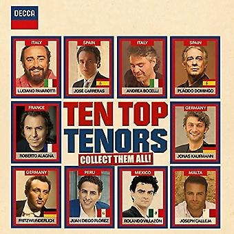 Diez mejores tenores - diez mejores tenores [CD] USA importar