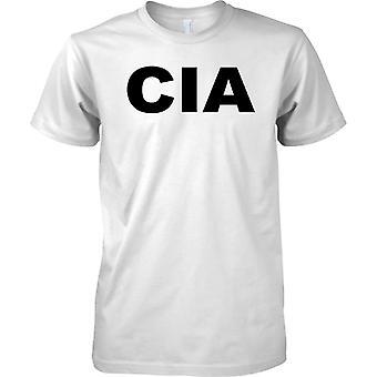 CIA-Slogan - Central Intelligence Agency - T-Shirt für Herren