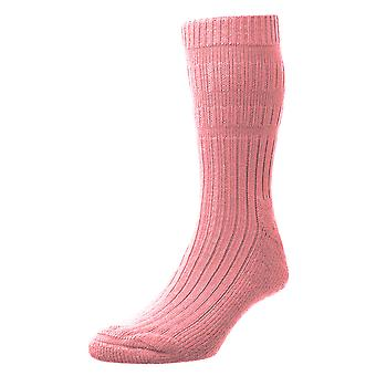 HJ Hall Ladies Warm Acrylic Actifresh Sanitized Bed Socks With Smooth Toe Seam