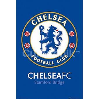 Chelsea FC Club krönet - Stamford Bridge affisch affisch Skriv