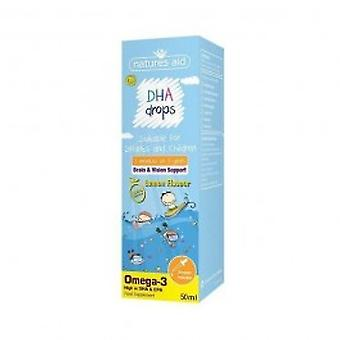 Natures Aid - DHA Drops For Infants & Children (3 Months - 5 years)