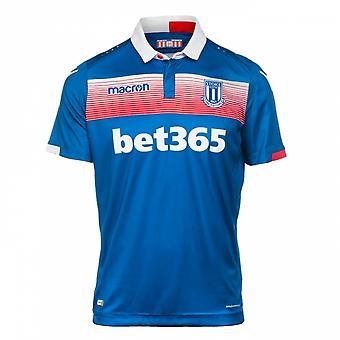 2017-2018 Stoke City Macron Away Football Shirt