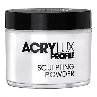 Acrylux Salon Systems Acrylux Sochársky prášok - Jasná biela