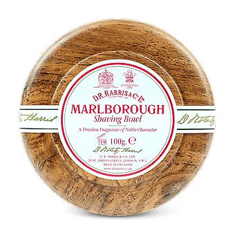 D R Harris Marlborough Shaving Soap & Bowl Mahogany 100g