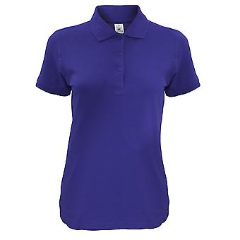 B & C נשים/שפרן מנצחי חולצת פולו
