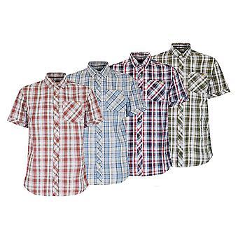 Regatta Herre Deakin kortærmet skjorte