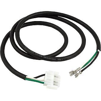 "Hydro-Quip 30-0015 16/3"" x 48"" AMP-4 Male B/W/G Blower Cord"