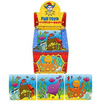 亨布兰特儿童/儿童迷你海洋生物拼图(108盒)