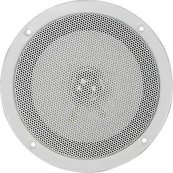 Renkforce SPE-150 Flush mount speaker 30 W 4 Ω White 1 pc(s)