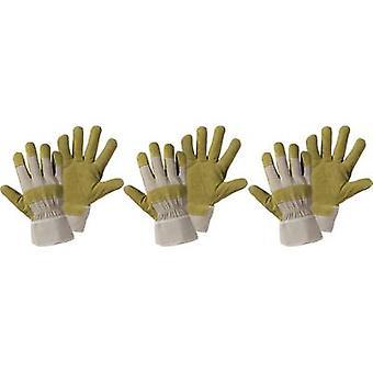 L+D Upixx China-Splitleather 1521-3 Split leather Protective glove Size (gloves): 10.5, XL 3 Pair
