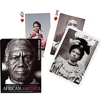 African America Set Of Playing Cards + Jokers