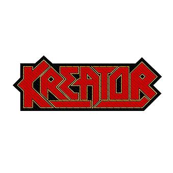 Kreator Cut Out Logo Woven Patch