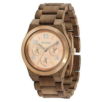 WeWood Kyra Nut Rough Rose 70372727000 Watch