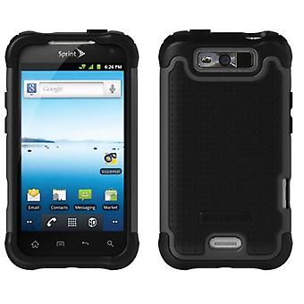 Ballistic SG Case for LG Viper LS840 (Black/Gray)