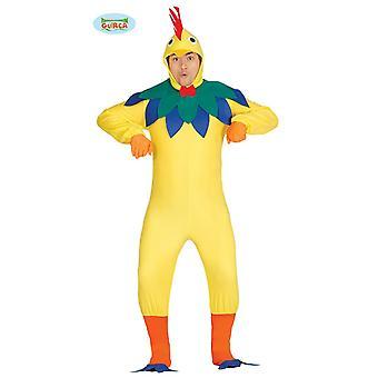 Kyckling tupp kostym vuxna djur kostym mens fågel gård