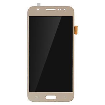Repuesto de pantalla LCD con pantalla táctil para Samsung Galaxy J5 - oro