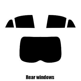 Pre cut window tint - Mitsubishi Outlander - 2012 and newer - Rear windows
