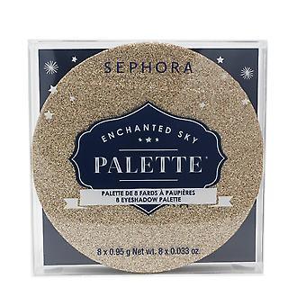 Sephora Enchanted Sky palett 8 øyenskygge palett 8 X 0.033oz ny i boks