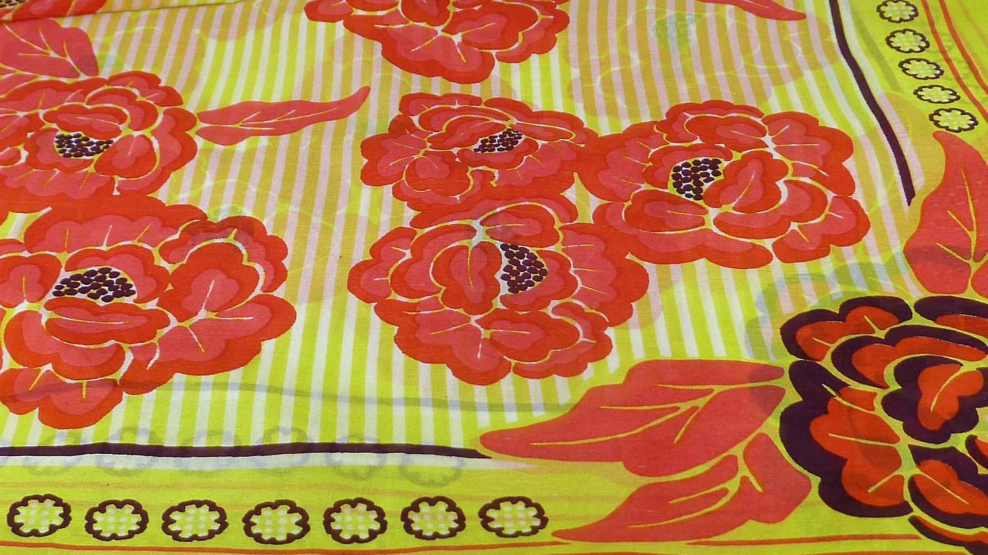 Mulberry Silk Contemporary Square Scarf Floral F210 by Pashmina & Silk