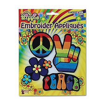 Appliques di hippy.