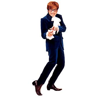 Austin Powers (Blue Suit) (Austin Powers) - Lifesize Cardboard Cutout / Standee