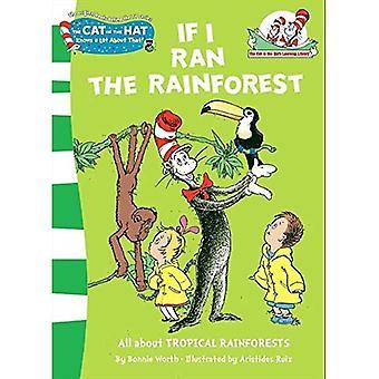 Si j'ai couru la forêt tropicale (le chat dans Learning Library du chapeau)