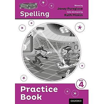 Read Write Inc. Rechtschreibung: Praxis Buch 4 5er Pack
