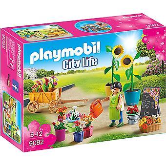 Playmobil 9082 City Life Florist leksak Set