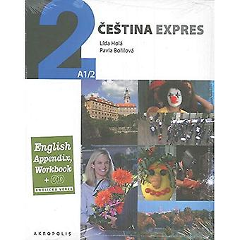 Cestina Expres/Czech Express 2 - Pack (Textbook, English Appendix and free audio CD)