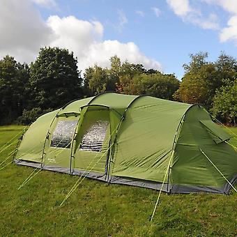 New Eurohike Buckingham Elite 8 Family Tent Green
