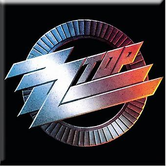 ZZ Top Fridge Magnet Circle band Logo new Official 76mm x 76mm