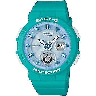 Baby-G Damen analoge Quarzuhr mit schwarzem Kunstharz-Armband 4549526189388