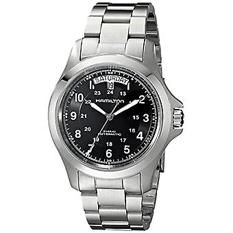Hamilton Automatic Analog Man with stainless steel strap H64455133