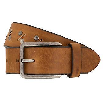 MIGUEL BELLIDO jeans belts men's belts leather belts, beige 7822