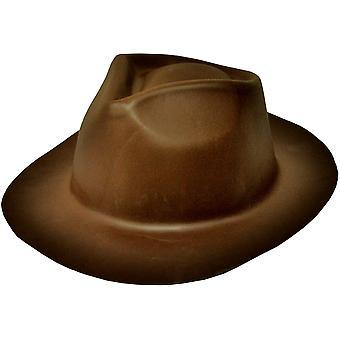 Gangster hoed bruin schuim voor alle