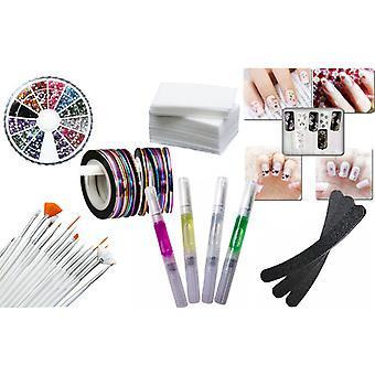 Large Nail kit/manicure Kit Beginner