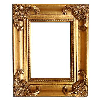 10x15 cm or 4x6 inch, gold Frame