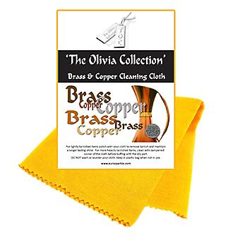 TOC Brass & Copper Anti Tarnish Cleaning & Polishing Cloth, 440mm x 315mm
