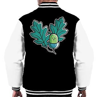 Cute Acorn Men's Varsity Jacket